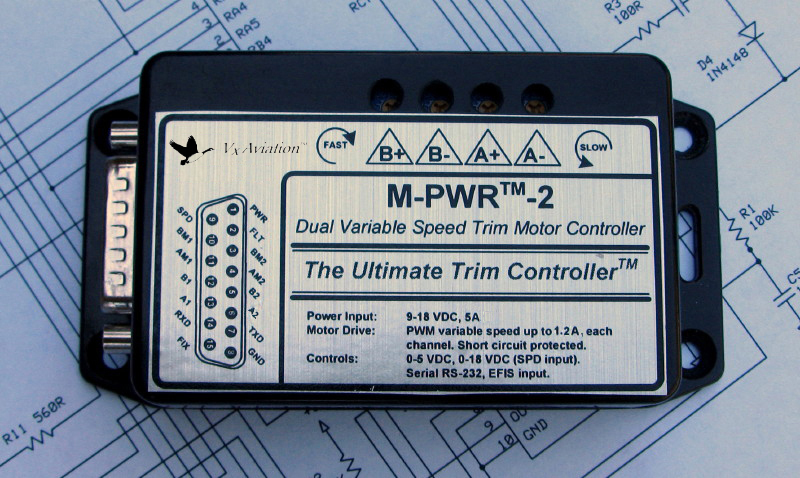 Open Source Dual Channel Variable Speed Trim Motor Controller Released