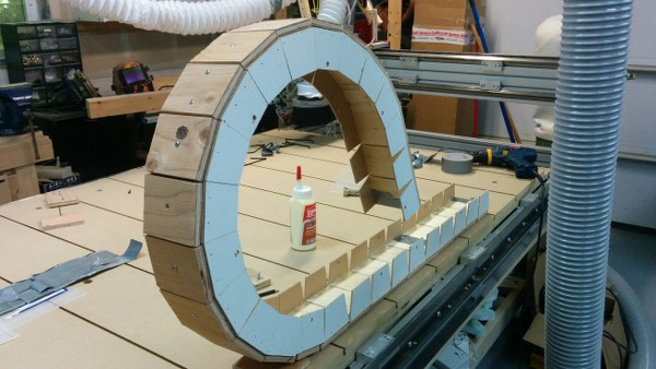 DIY CNC Cable Carrier
